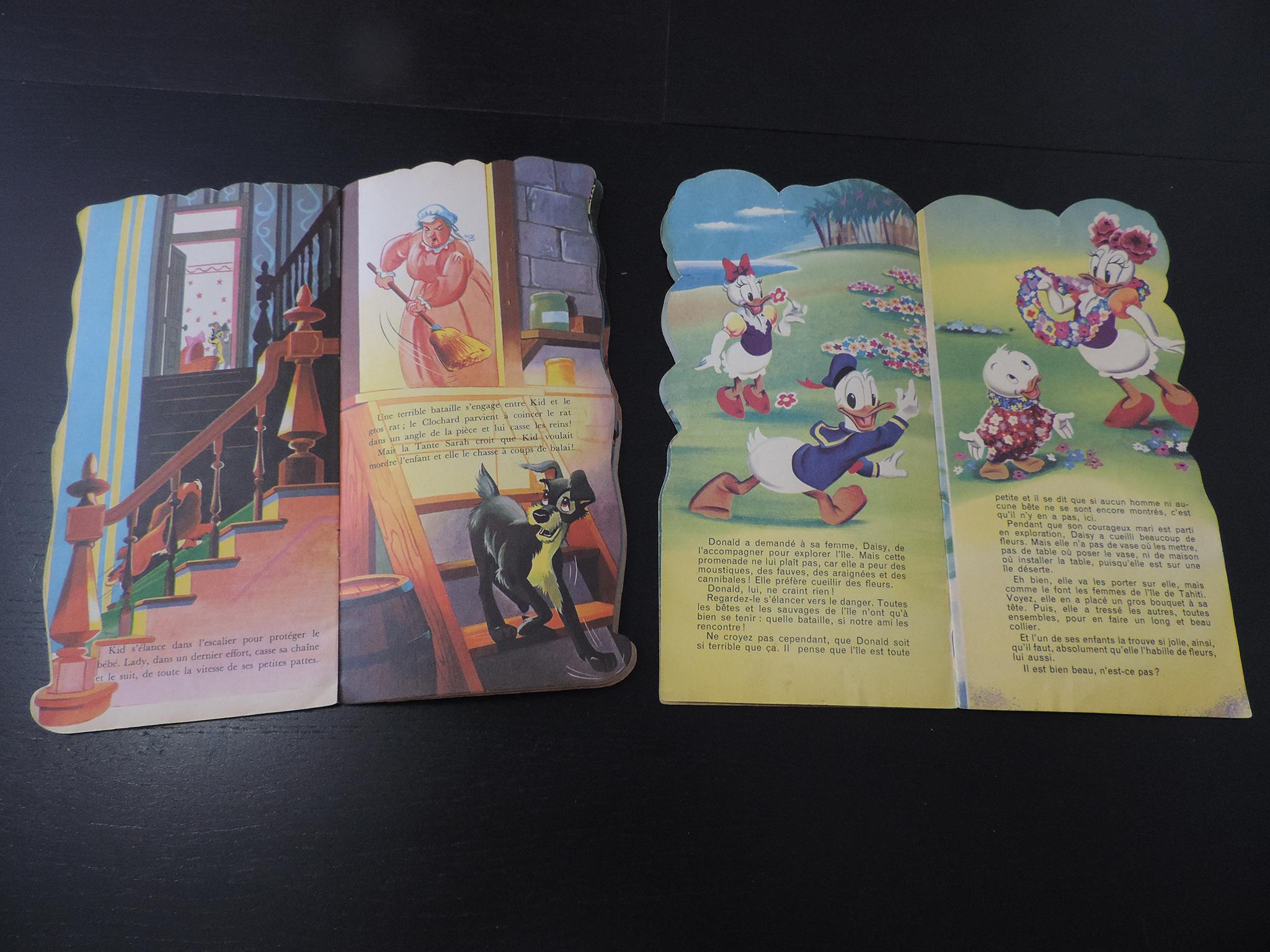 Livres Vintage De Walt Disney